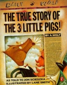 """Cover of """"The True Story of the Three Lit..."""
