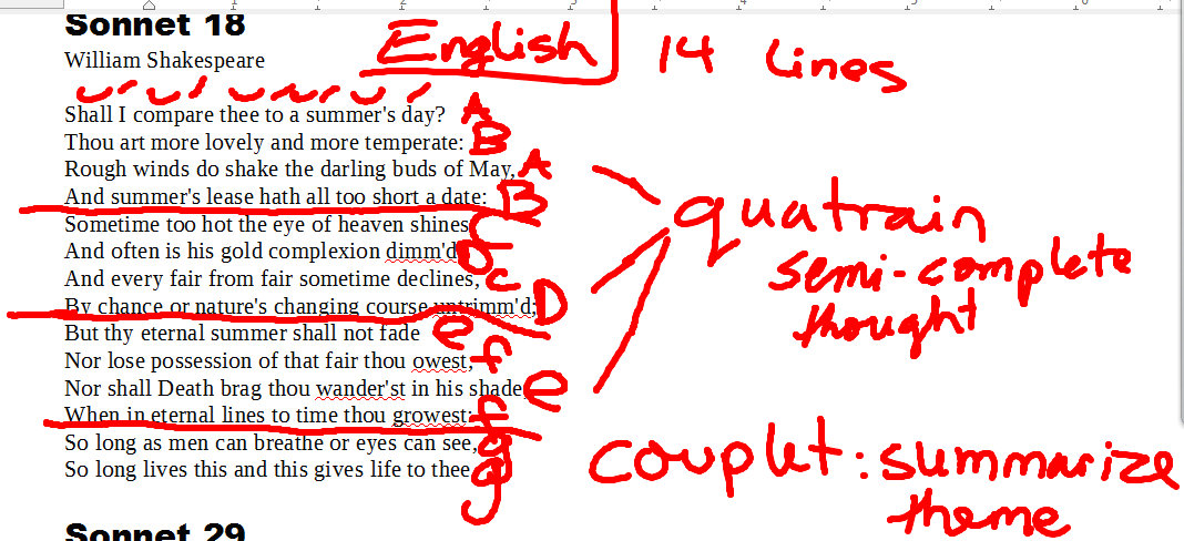Sonnet 18 Analysis